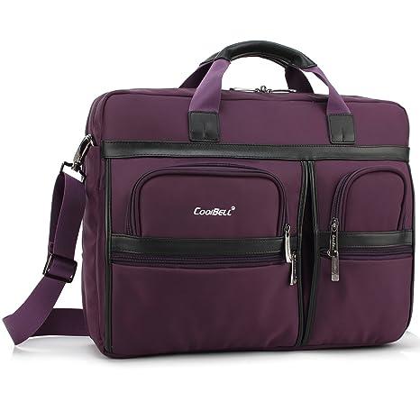 UtoteBag 17,3 Laptop Bolso Bolsillos hombro maletín multifunción antigolpes Ordenador Portátil de Business bolso