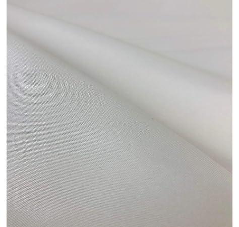 Tela lisa de color negro de 100% algodón, 150 cm por metro: Amazon ...