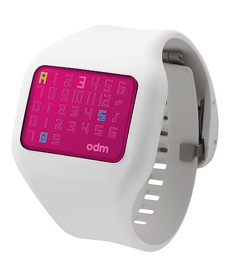 o.d.m. DD126 – 7 de las mujeres reloj Digital, color blanco