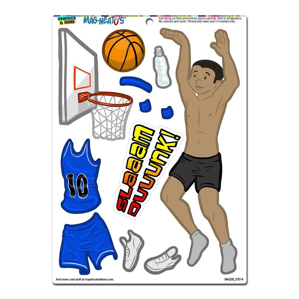 Gráficos y más Boy jugador de baloncesto deportes de papel para ...