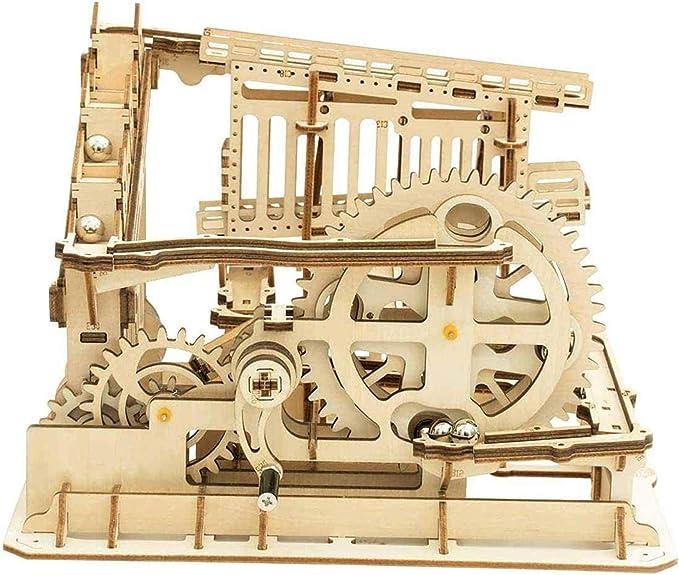 Jroyseter Puzzle en Bois 3D Bo/îte /à Musique Bricolage avec Mouvement De Haute Qualit/é Bo/îte /à Musique en Bois /à Manivelle pour Enfants Mini D/écoration Bo/îte /à Musique pour Piano