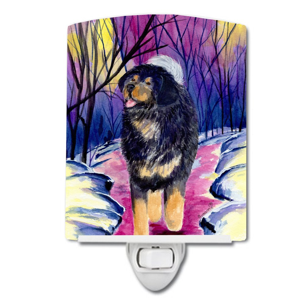 Carolines Treasures Tibetan Mastiff Night Light 6 x 4 Multicolor