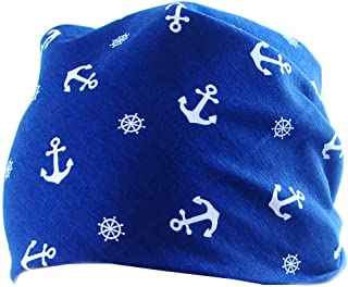 Baby Kinder Halstuch Bandana Kopftuch Cap Tuch Scarf mit Motiv Marine