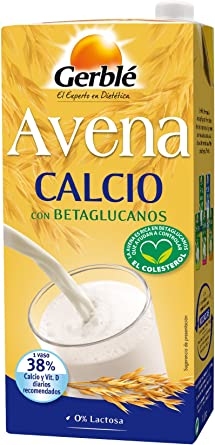 Gerblé - Avena Calcio - Bebida De Avena con Calcio - 1l: Amazon.es: Alimentación y bebidas