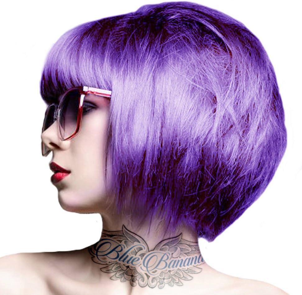 Crazy Color, Coloración semipermanente (color Hot Purple, nº 62), 100 ml