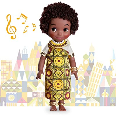 Disney - ''It's a Small World'' Kenya Singing Doll - 16'' - New in Box: Toys & Games