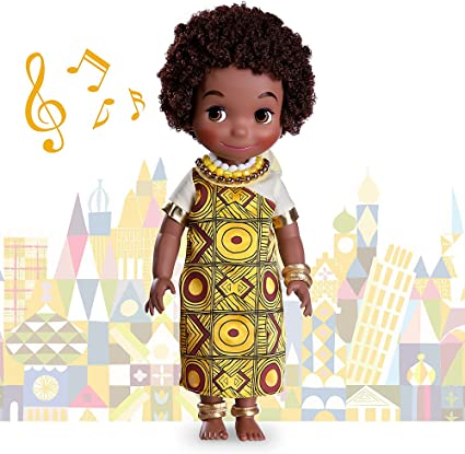 NEW DISNEY COLLECTION IT/'S A SMALL WORLD SINGING HAWAII DOLL