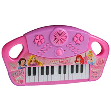 Disney Princess Children Kids Large Piano Keyboard Organ Educational