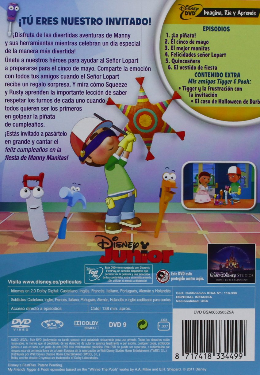 Amazon.com: Pack Manny Manitas (Import Movie) (European Format - Zone 2) (2011) Varios: Movies & TV