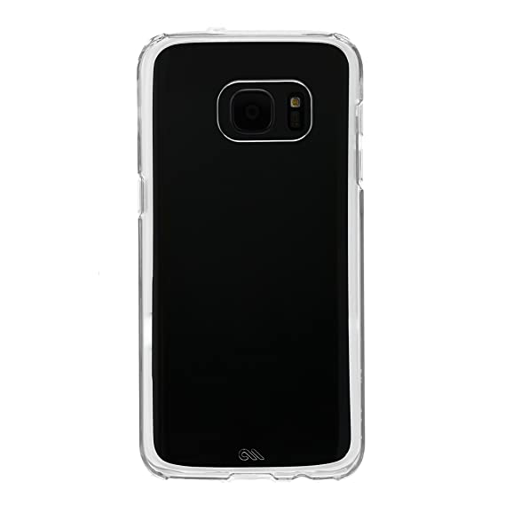 buy popular 1611b 10479 Case-Mate Phone Case for Samsung Galaxy S7 - Retail Packaging - Clear/Clear