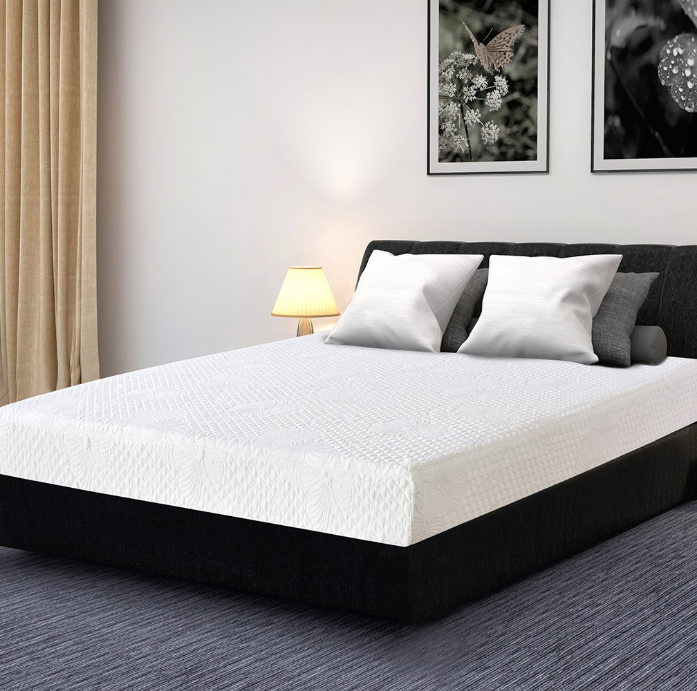 Olee Sleep 9 Inch I-gel Multi Layered Memory Foam Matress