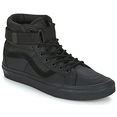 Vans SK8-HI Reissue Strap Sneaker Herren Black Sneaker High: Amazon ...