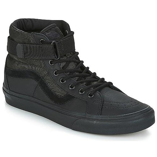 9e34e6965 Vans - Zapatos - UA SK8-Hi Reissue Strap - Negro  Amazon.es  Zapatos y  complementos
