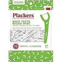 Plackers derecho ángulo hilo dental, 2unidades (total 150)