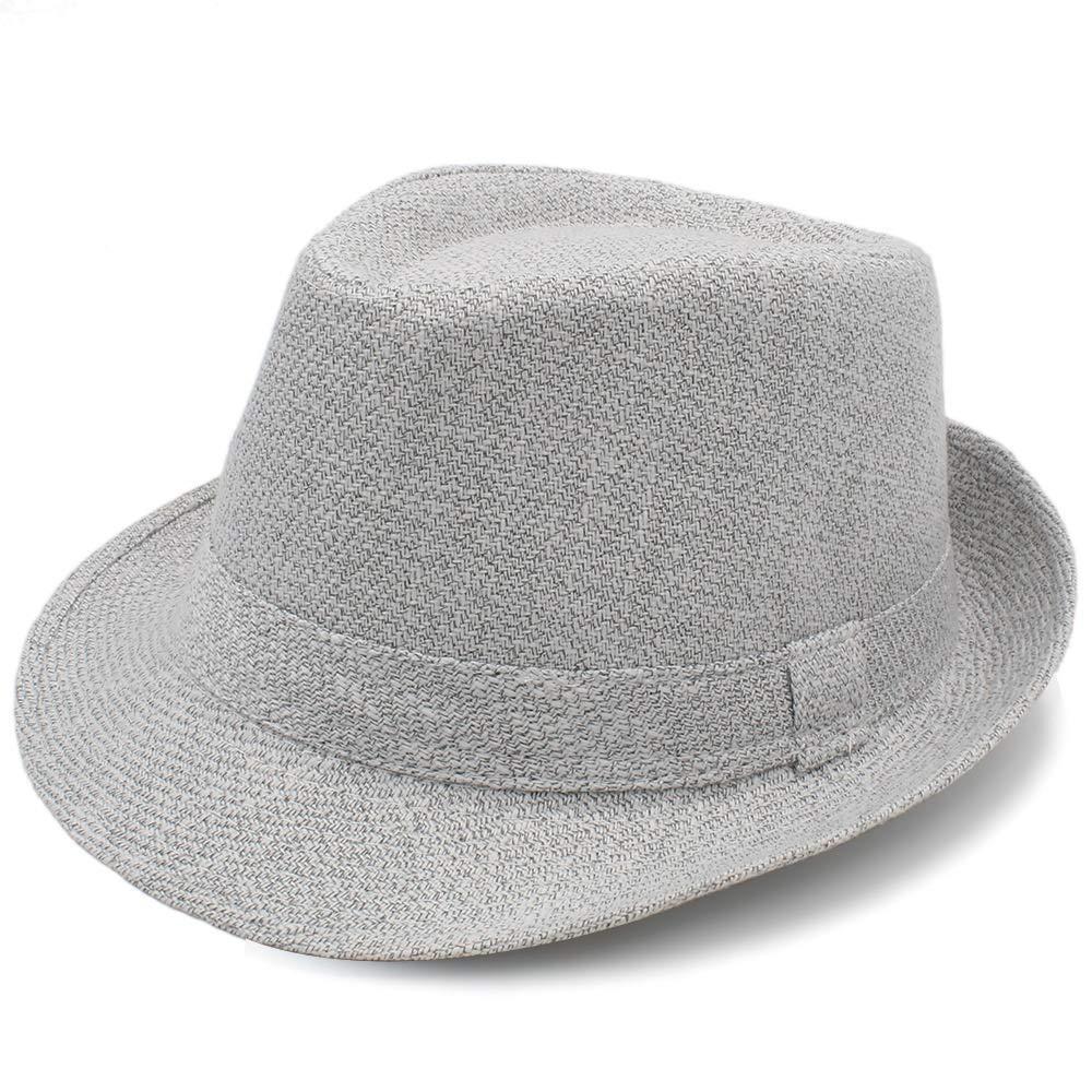 MUMUWU Womes Fedora Hat with Bowler Elegant Lady Winter Autumn Wide Brim Jazz Church Panama Sombrero Cap Felt Hat Great