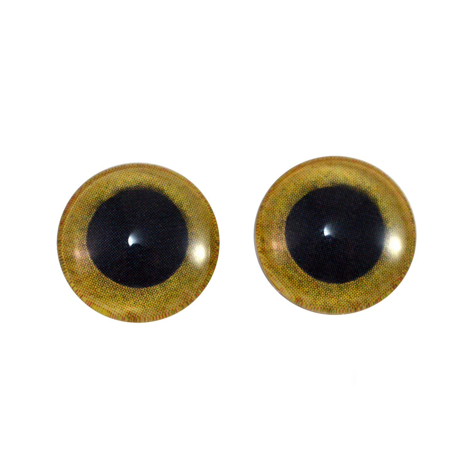 Dophee 100Pcs Wiggly Googly Doll Toy Animal Eyes Sew On Shank Back Sewing Crafts
