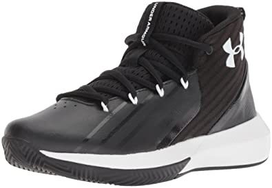 d536928f1 Under Armour Boys   Ua BGS Lockdown 3 Basketball Shoes  Amazon.co.uk ...