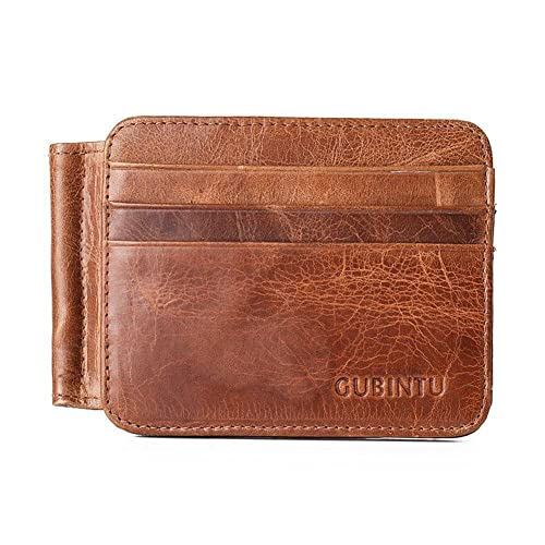 JINBAOLAI-MSKAY Carteras para Hombre, Billetera para hombre de cuero de grano entero Bifold Vintage Purse: Amazon.es: Zapatos y complementos