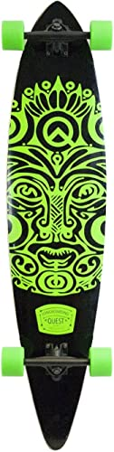 Quest Made in Mars Buena Karma Longboard, 44 , Green