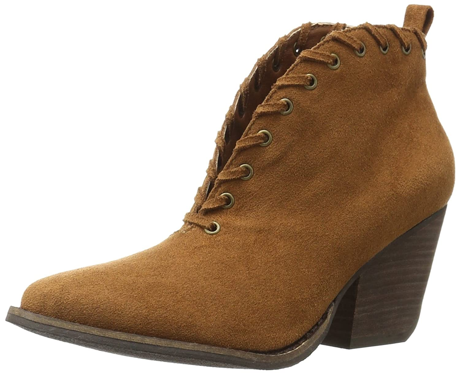 Coconuts by Matisse Women's Alabama Ankle Bootie B01D9TWEGG 6.5 B(M) US|Saddle