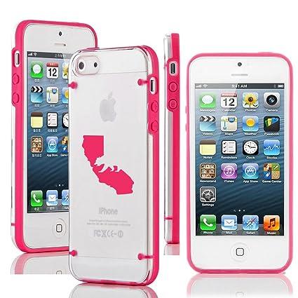 Amazon.com: iPhone de Apple se transparente duro Carcasa de ...