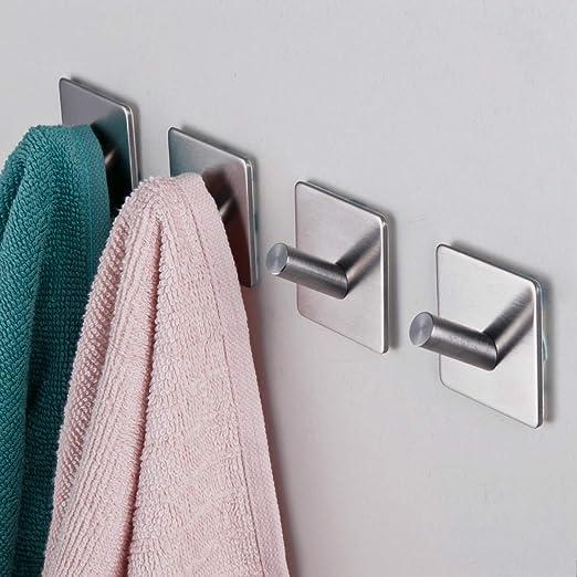 Wall Mount Hat Coat Rope Hook Bathroom Towel Holder Hang In Polished Chrome