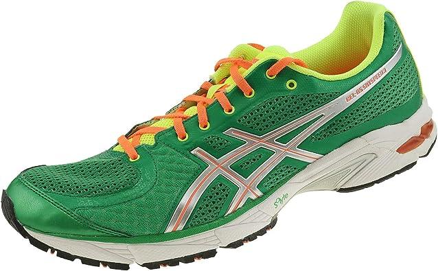 Asics DS Sky Speed 3 T2C3N8493 - Zapatillas de running para hombre, color verde, plateado y naranja, color Verde, talla 47 EU: Amazon.es: Zapatos y complementos