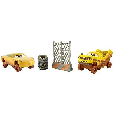 Disney Pixar Cars 3 Crazy 8 Crashers Taco & Cruz Ramirez Vehicle 2-Pack: Toys & Games