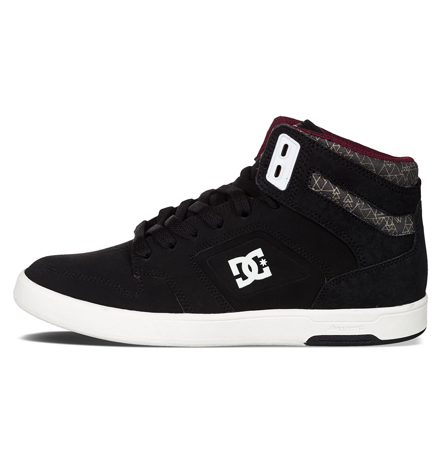 9c4aadf9143364 DC Nyjah High, Baskets mode femme - Noir (Black Anthracite-Bka), 42 EU   Amazon.fr  Chaussures et Sacs
