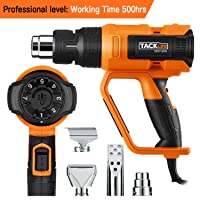 Deals on Tacklife HGP73AC Professional Heat Gun 1600W