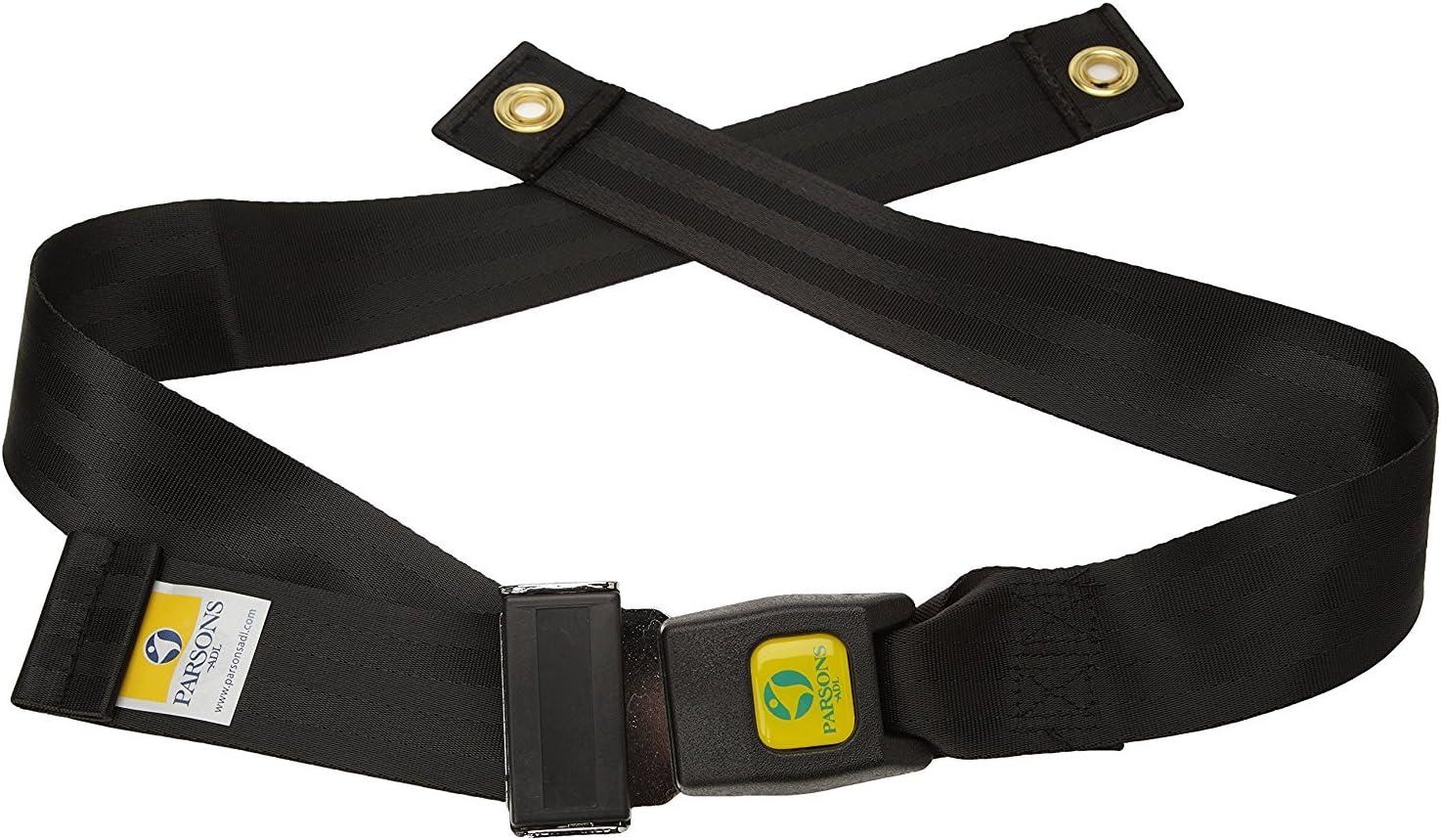 Patterson Medical - Cinturón para silla de ruedas con accesorio para tornillos