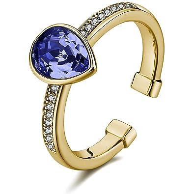 vendita a buon mercato usa modelli alla moda prezzo più basso con BROSWAY - Anello in argento e galvanica oro con zirconi e ...