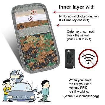 RFID Blocking móvil, fuyuanshan Auto Señal Keyless Go ...