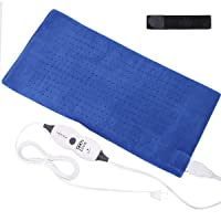 Tech Love XLarge Heating Pad with Fixation Strap for Neck Shoulder and Back Pain Relief XL Moist Heat Pad 12