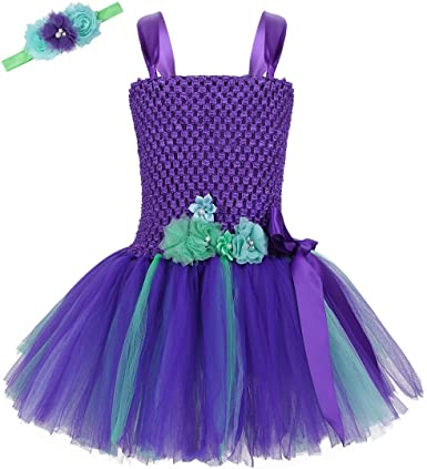 Oucan Baby Summer Girls Clothes Applique Princess Dress Children Tutu Mesh Clothes