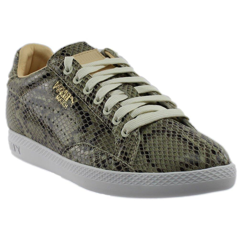 PUMA Women's Match Animal WN's Shoe, Star White-Natural V, 8 M US