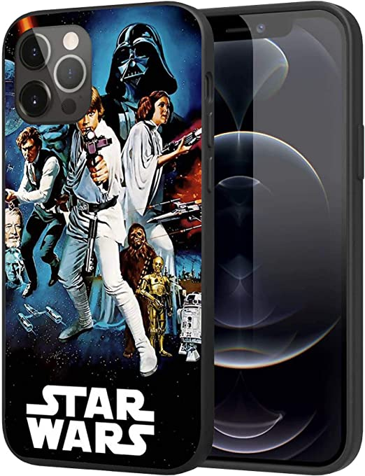 iPhone 12 Pro Max Case,Silicone Case Cover Case Fashion Case (Star-Wars)
