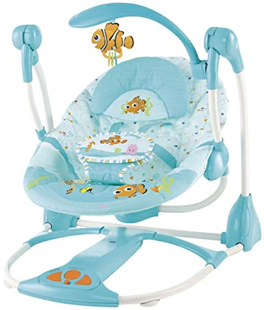 b37c21c9dd0 Amazon.com : Disney Nemo Portable Swing : Infant Bouncers And ...