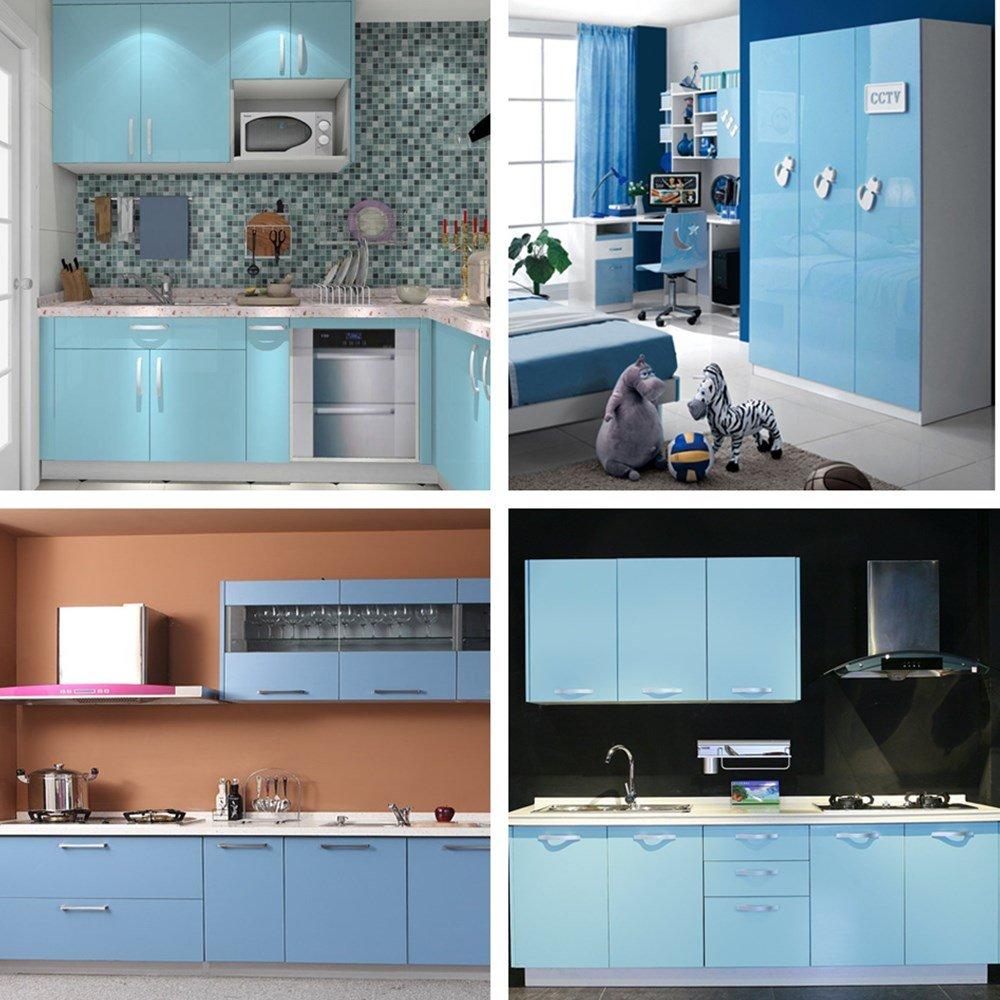 Berühmt Farben Küche Farbe, Die Mit Weißen Schränken Gehen Fotos ...