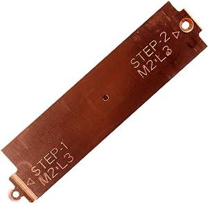 Deal4GO M.2 2280 SSD Heatsink Hard Drive Cover Heat Shield for Dell G3 3500 G5 5500 G5 SE 5505 0YX0F3 YX0F3