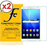 Forefront Cases® [HD CLARITY] Tempered Glass Screen Protector Guard Cover Film for Huawei MediaPad M3 8.4 [ULTRA THIN only 0.3mm] - PACK OF 2