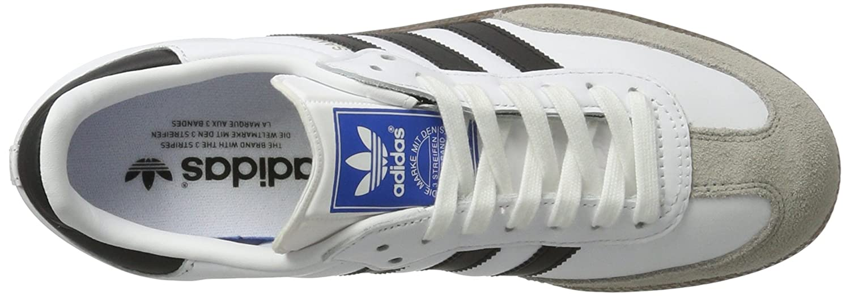 Amazon.com | adidas Mens Samba OG, Footwear White/CORE Black/Clear Granite, 9 M US | Athletic