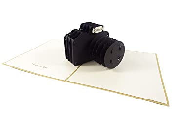 Camera design 3d pop up card greeting card birthday card camera design 3d pop up card greeting card birthday card photographer gift bookmarktalkfo Image collections
