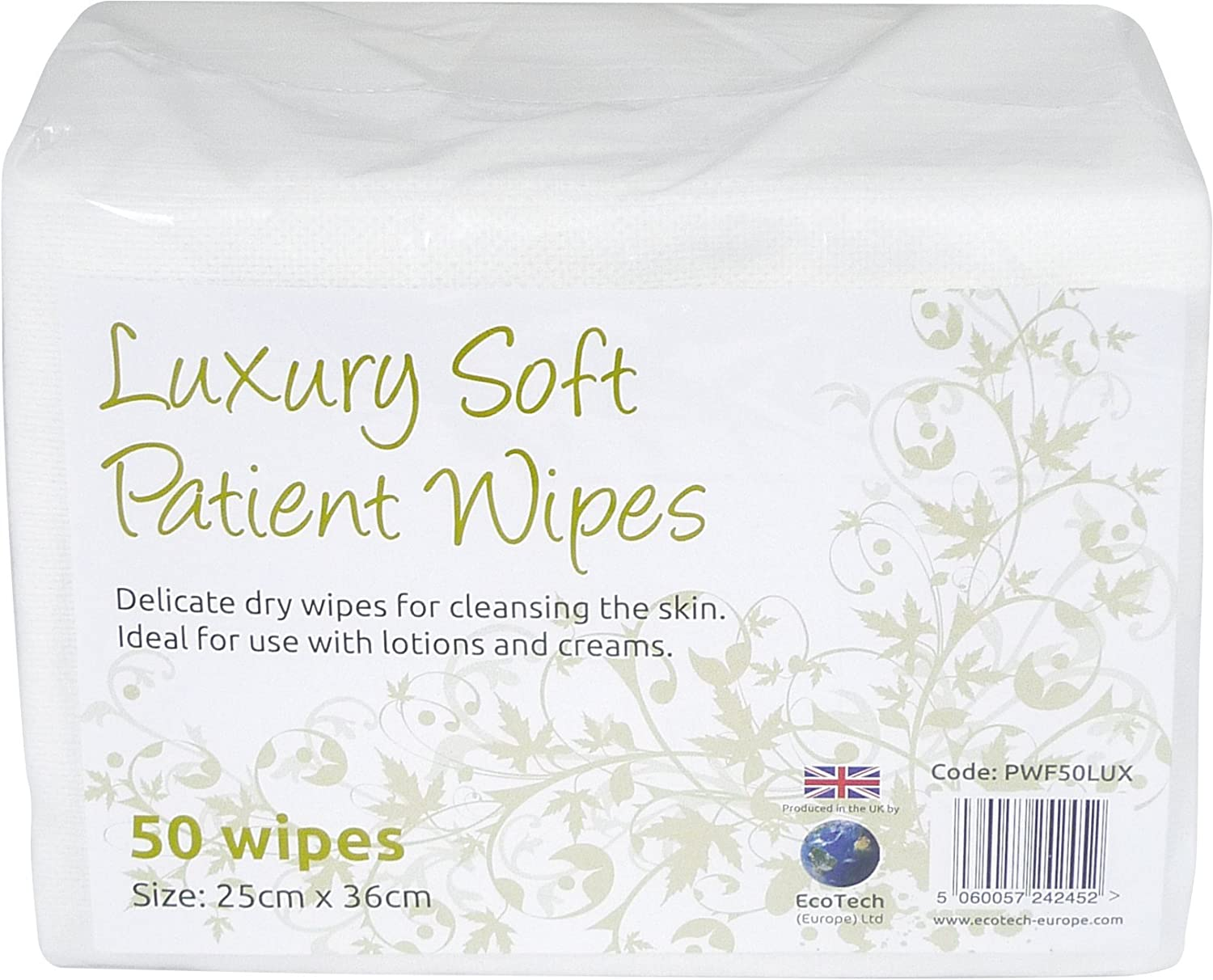 Lujo suave paciente seco toallitas de limpieza: Amazon.es: Industria, empresas y ciencia