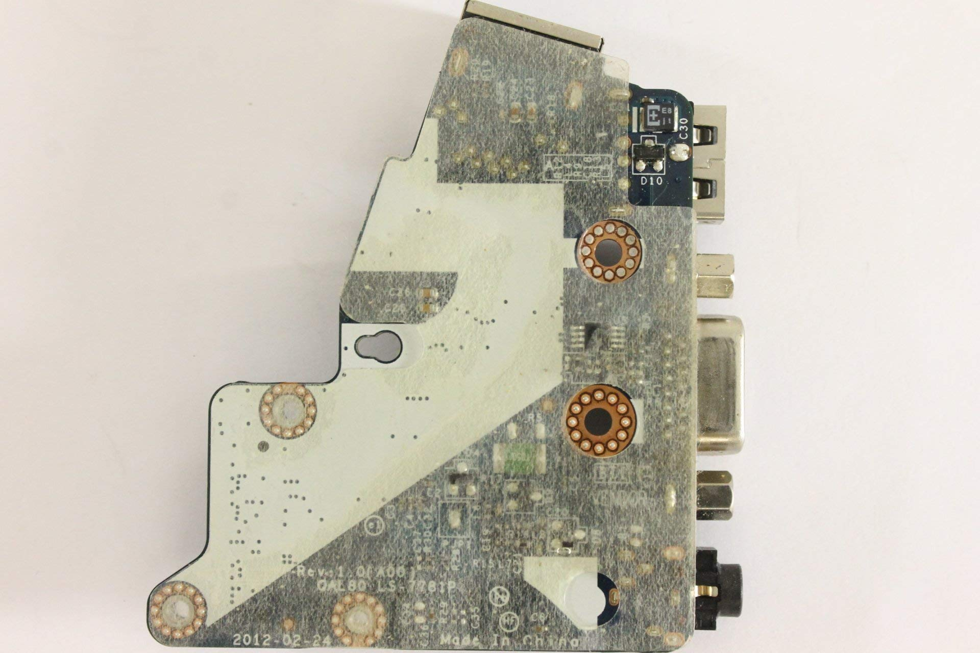 Dell Latitude E6430 51WP9 Audio Ethernet USB VGA Modem Board LS-7781P (Certified Refurbished) by Dell (Image #2)