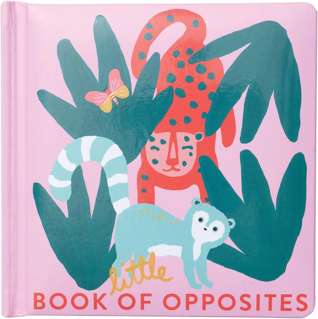 Manhattan Toy Natural Historian Opposites Padded Cover Baby and Toddler Board Book