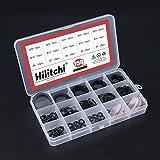 Hilitchi 150-Pcs Alloy Steel External Circlip