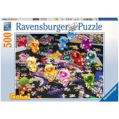 Ravensburger Gelini beim Puzzlen. Puzzle 500 Teile