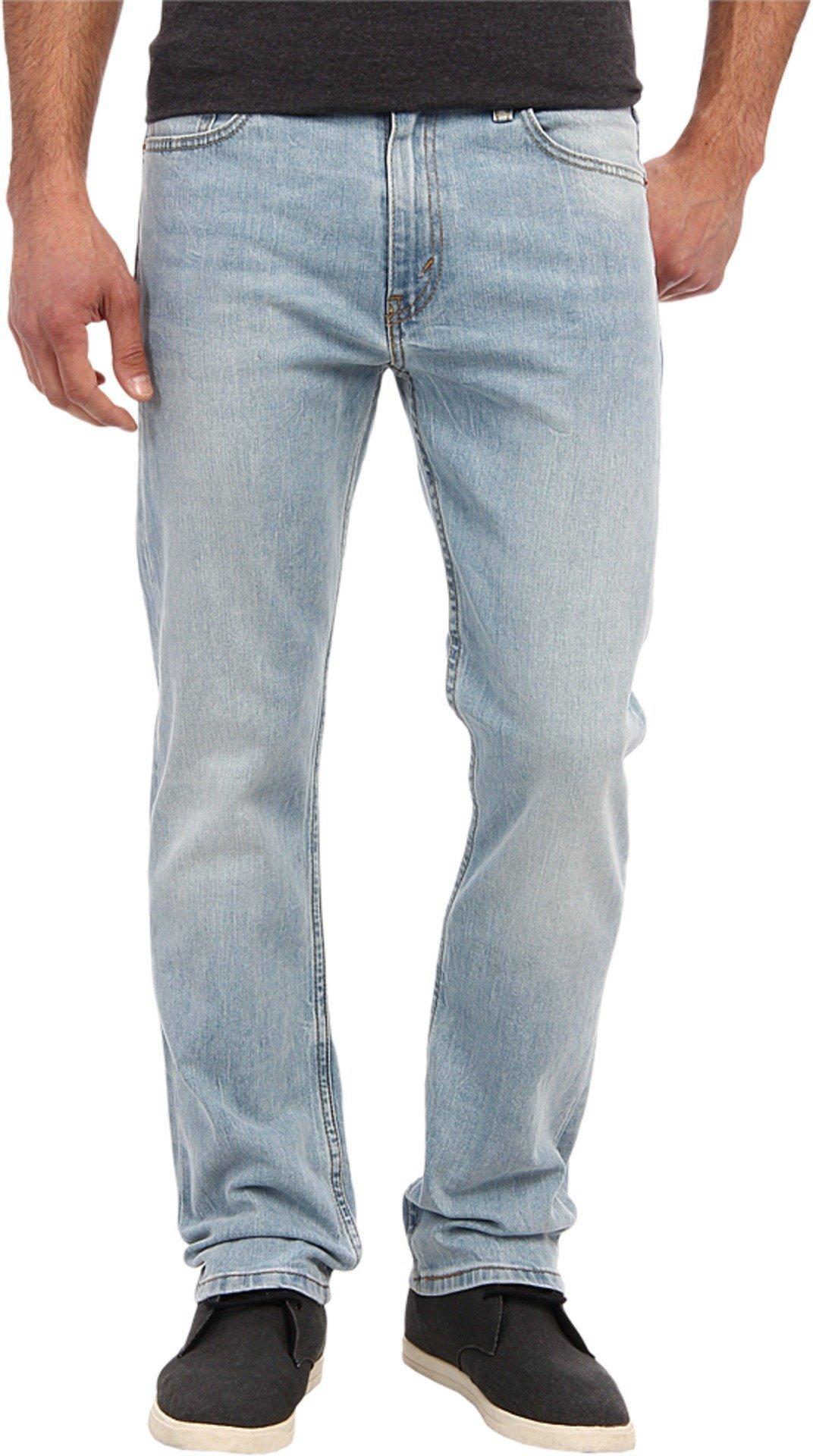 Levi's Men's 513 Stretch Slim Straight Jean, Blue Stone, 34x30