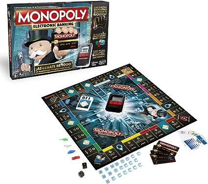 Monopoly Electronic Banking (Versión Española) (Hasbro B6677105): Amazon.es: Juguetes y juegos